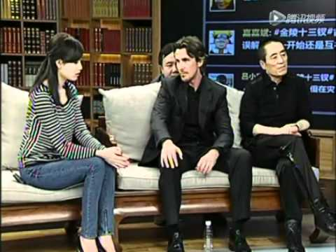 Christian Bale On Chinese TV For 'The Flowers of War' (December 12th, 2011) ~ Pt. 2/2