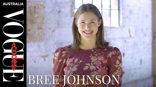 Bree Johnson backstage interview at Vogue Codes 2019 in Sydney   Vogue Codes   Vogue Australia