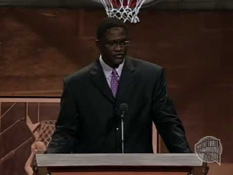 Jacques Dominique Wilkins' Basketball Hall of Fame Enshrinement ...