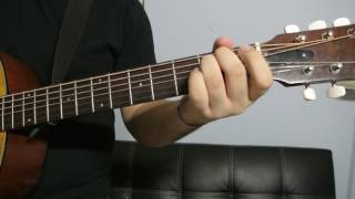 "Justin Bieber - ""Favorite Girl"" How to Play Guitar (Easy!! Guitar Tutorial!!)"