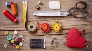 How to Hand Sew a Basting Stitch