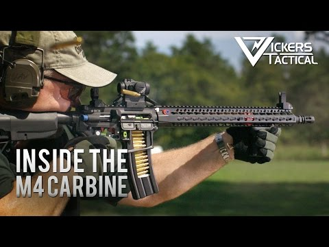 Inside the M4 Carbine (4K UHD)