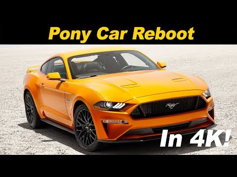 2018 / 2019 Ford Mustang Ecoboost Review in 4K