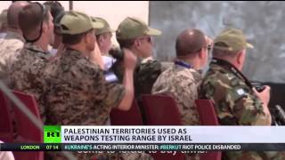 Israel Uses Palestinian Territories as Weapons Testing Firing Range