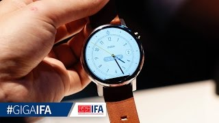 Moto 360 (2. Gen) - Hands-On - GIGA.DE