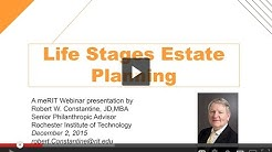 Life Stage Estate Planning