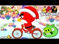 Angry Birds Christmas Bike - Angry Birds Games