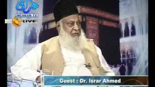 Last interview of Dr Israr Ahmed Part 1