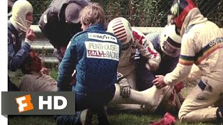 1 (2013) - Lauda's Accident Scene (9/11) | Movieclips