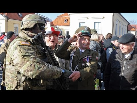 US Troops Arrive In Poland; Russia Sees It As An Act of Aggression (REACTION)