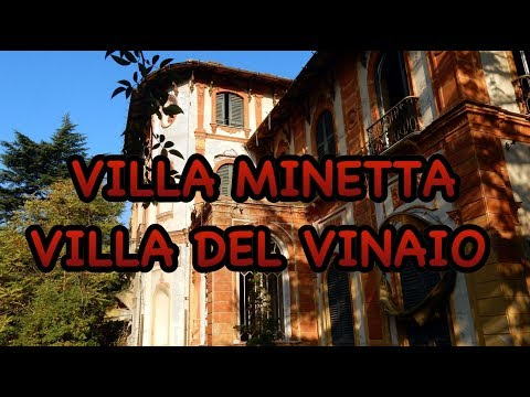 VILLA MINETTA - DEL VINAIO/ Abandoned Villa Of The Richest Man In Italy (URBEX ITALIA)