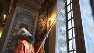 видео: Освящение Успенского собора.mpg