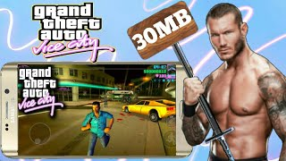 [30 MB] GTA Vice City Ultra Highly Compressed For Android with all GPU !! 2018 !! [ hurry up ]