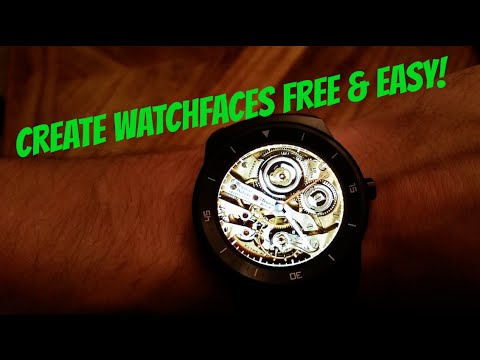 How to design Android Wear WATCH FACES FREE!