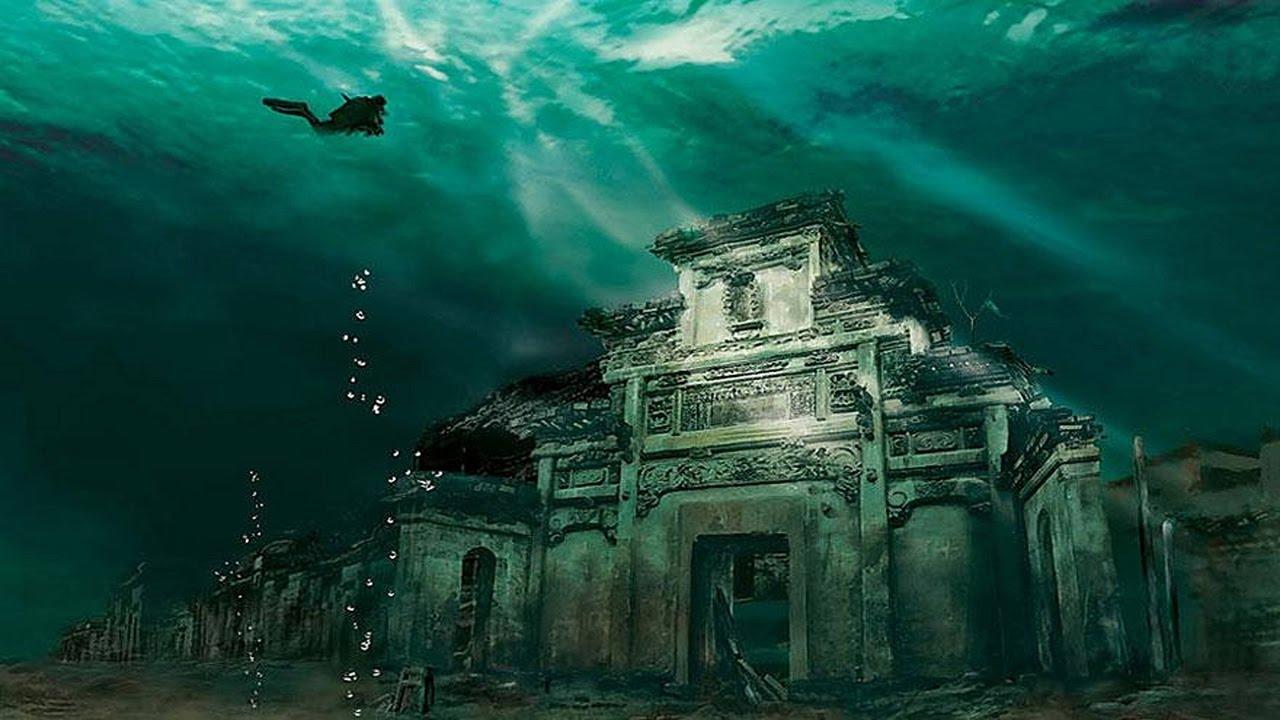 подводные города фото