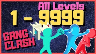 GANG CLASH ALL LEVELS ANDROID GAMEPLAY 🏆 (90 - 100) #10