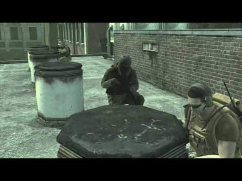 Metal Gear Online Trailer  (PS3)