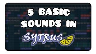 An Effective yet Basic set of Sytrus Sounds [FL Studio Tutorial] [Sytrus]