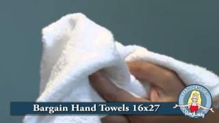 Bargain Hand Towels 16x27 W6HTBARG DZ