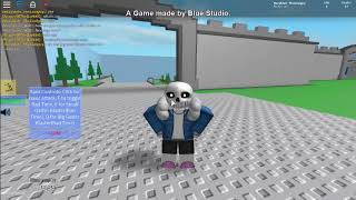 SANS!?! || Roblox Script Fighting 2