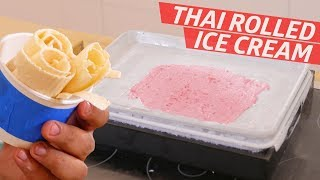 Cliff Attempts Thai Rolled Ice Cream —You Can Do This!