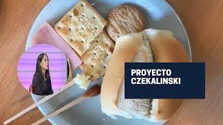Proyecto Czekalinski: 6 personas comerán los alimentos de la canasta básica durante 6 meses