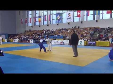 Junior European Judo Cup 2015  60 kg Preliminary Gazimagomedov RUS  Schorno SUI