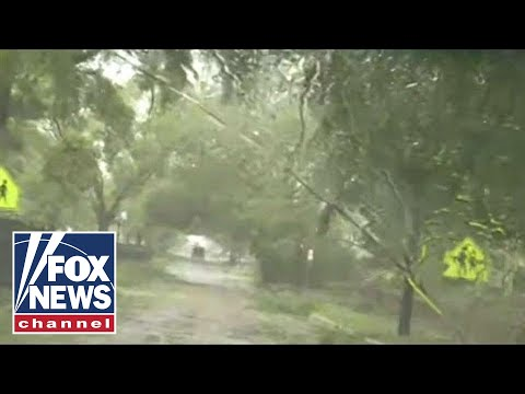 Drive through Wilmington reveals damage from Florence