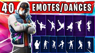 "FORTNITE SHOWCASE - BRAND NEW ""ABSTRAKT"" SKIN with 40 Dances/Emotes 