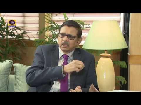 Jasleen Vohra in conversation Dr. A. Surya Prakash, Chairman, Prasar Bharti
