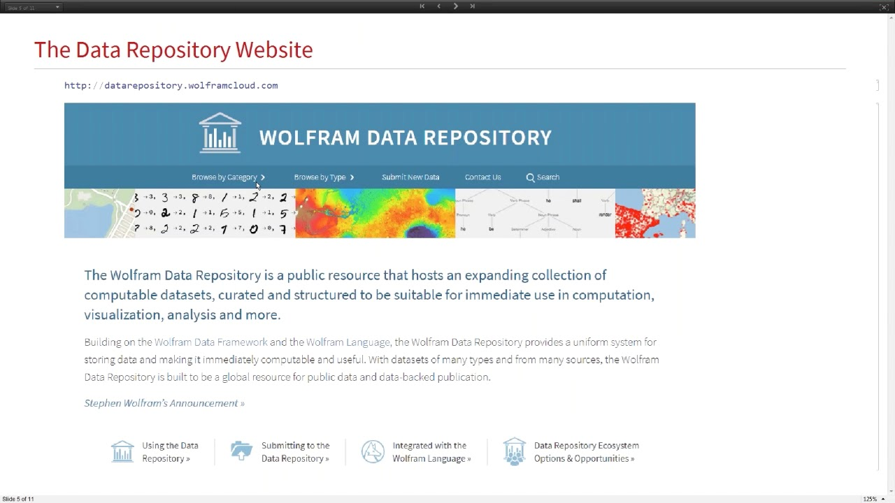 Using the Wolfram Data Repository for Beginners and Experts