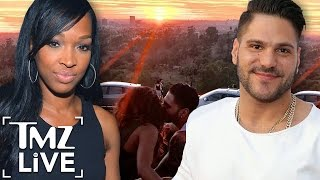 New Couple Alert: 'JERSEY SHORE'  RONNIE & MALIKA | TMZ Live