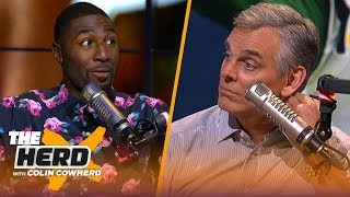 Greg Jennings talks Aaron Rodgers' greatness & defends Ezekiel Elliott's holdout | NFL | THE HERD