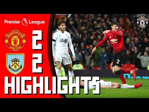 Highlights | Manchester United 2-2 Burnley | Pogba & Lindelof rescue the Reds