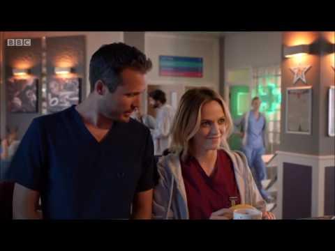 Holby City| Jasmine tells Ollie Zosia knows they split up
