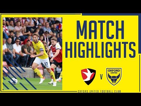 Cheltenham Oxford Utd Goals And Highlights