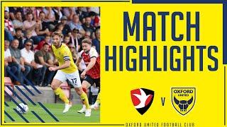 Челтнем Таун  1-0  Оксфорд Юнайтед видео
