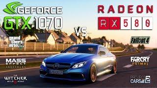 RX 580 vs GTX 1070 Test in 6 Games (i5 8400)
