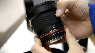 Samyang 16mm f/2 ED AS UMC lens review with samples
