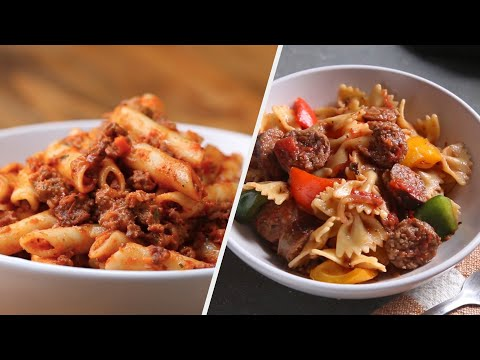 6 Unforgettable Red Sauce Pasta Recipes • Tasty