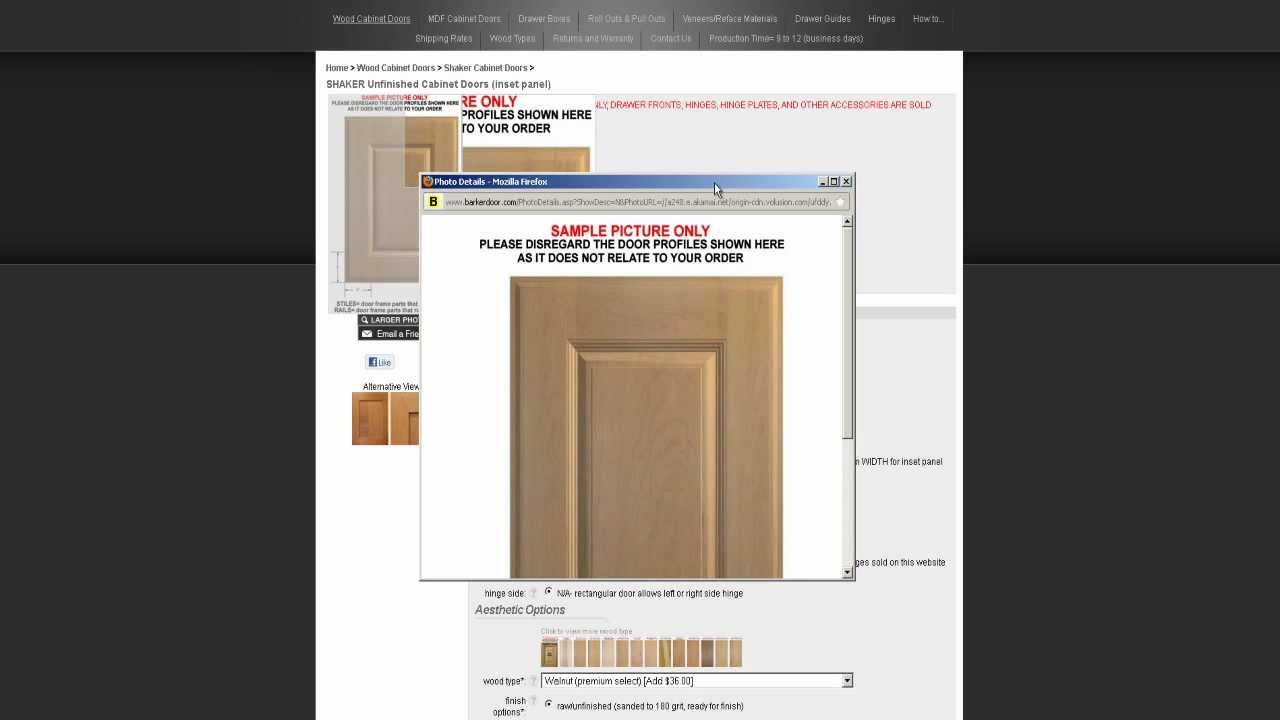 How to order doors from Barker Door & How to order doors from Barker Door - YouTube Pezcame.Com