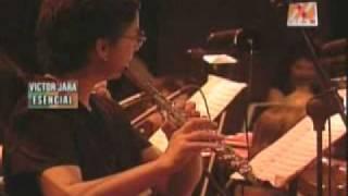 Angelita Huenuman, victor jara sinfonico