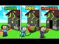 Minecraft - HOW TO BREAK INTO SECURE HACKER HOUSE!