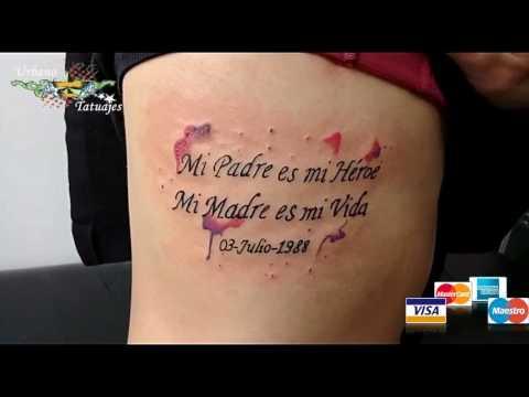 Urbano Tatuajes Mensaje Padres Youtube