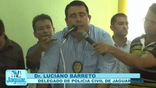 JAGUARUANA PROTESTA CONTRA FALTA DE SEGURANÇA