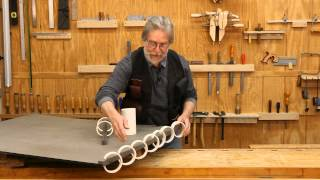 How To Make a Woodworking Clamp out of PVC Drainpipe