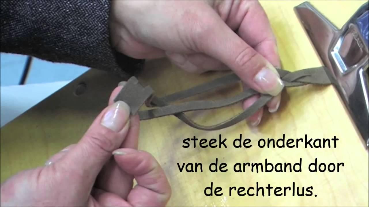 Hoe maak je een gevlochten armband uit 1 stuk bead it almere