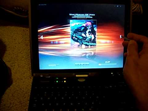 Apps And Games On My Toshiba M200 Tablet PC