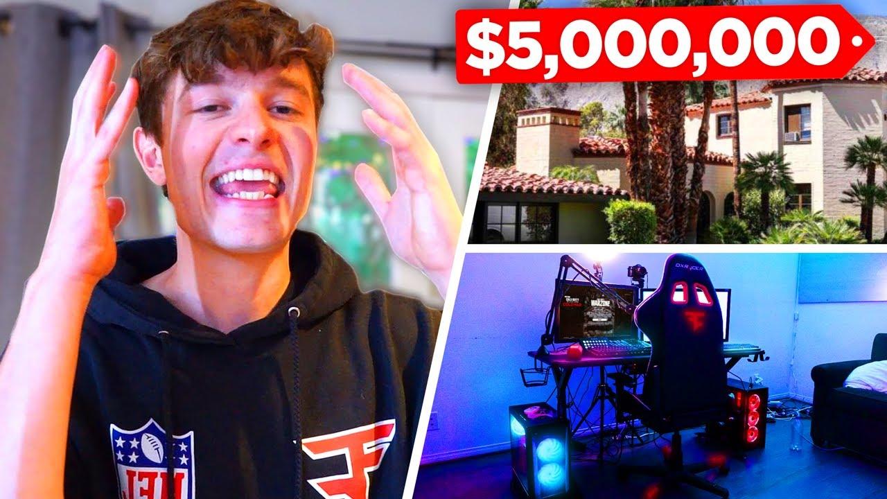 INSANE $5,000,000 HOUSE TOUR + GAMING SETUP!