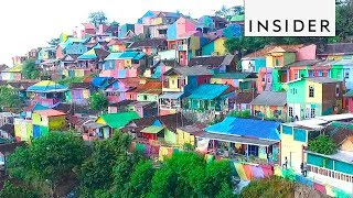 The Rainbow Village of Indonesia